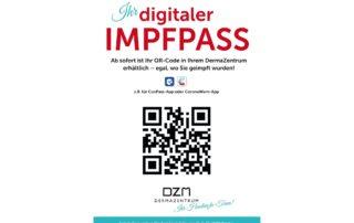 Digitaler Impfpass Dermazentrum DZM